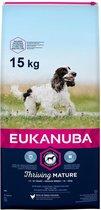 Eukanuba Dog Mature & Senior - Medium Breed - Kip - Hondenvoer - 15 kg