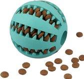 Honden Speelgoed - Hondenspeeltjes - Hondenbal - Hondenspeelgoed - Honden Speelgoed Intelligentie - Honden Bal - Snackbal Hond - Kauwspeelgoed Hond - Blauw - 6 Cm