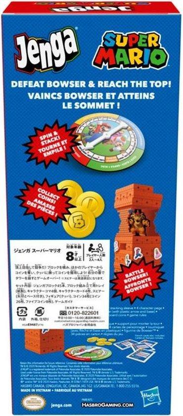 Thumbnail van een extra afbeelding van het spel Super Mario Jenga | Nintendo |Gezelschapsspel |Nieuwe Editie | Mario 3D all stars |