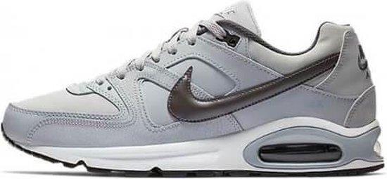 Nike Air Max Command Leather Heren Sneakers - Grijs/zwart - Maat 45