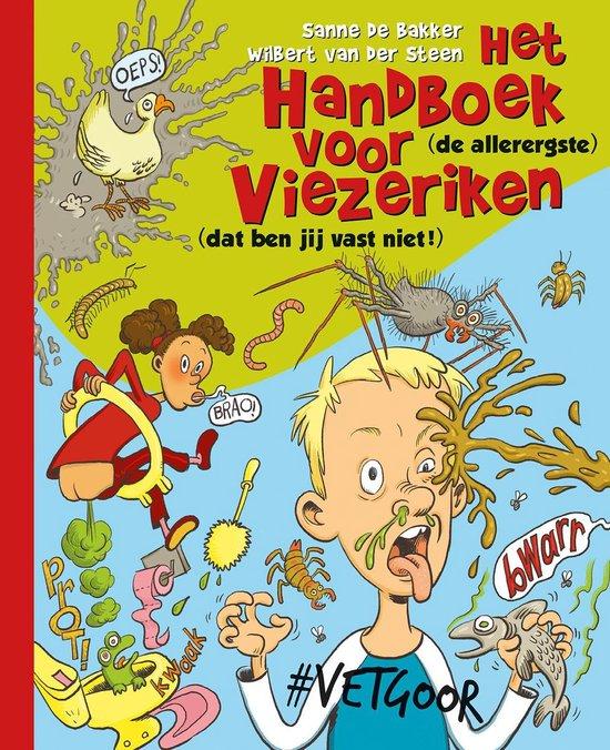 Boek cover Het handboek voor viezeriken van Sanne de Bakker (Hardcover)