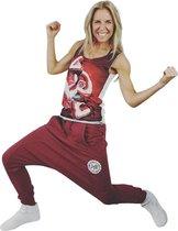 Jtb-store Baggy Jogging Sportbroek in de kleur Rood maat L