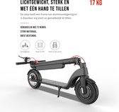 Doogo X8 Elektrische Step- E-Scooter - Voor Volwassenen- Afneembare batterij - 10 Inch Schokbestendige Wielen - Cruise Control