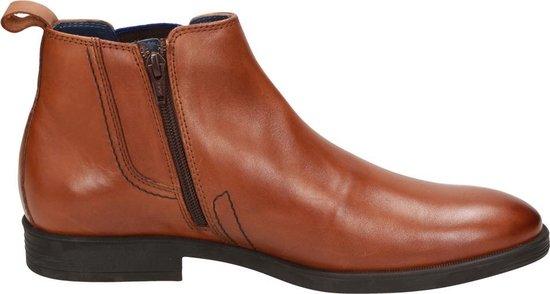 Sioux Foriolo-704 Chelsea Boot Heren Bruin Leer - Maat 48.5