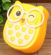 Nachtlampje stopcontact - LED - uil geel - lichtsensor - babykamer kinderkamer - verlichting