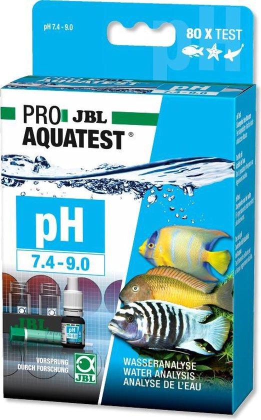 JBL Pro Aquatest pH 7,4-9,0 Test-Set sneltest water test