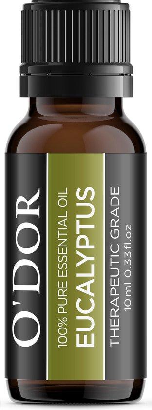 O'dor® Essentiële Etherische Olie Aromatherapie Cadeau Set van 4 - 100% puur Therapeutische-Grade Aroma Olie - Premium Kwaliteit : Lavendel, Orange, Eucalyptus, Lemoengras,
