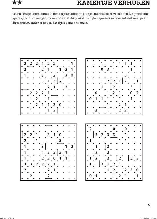 Afbeelding van Denksport Logische puzzelmix - puzzelboek