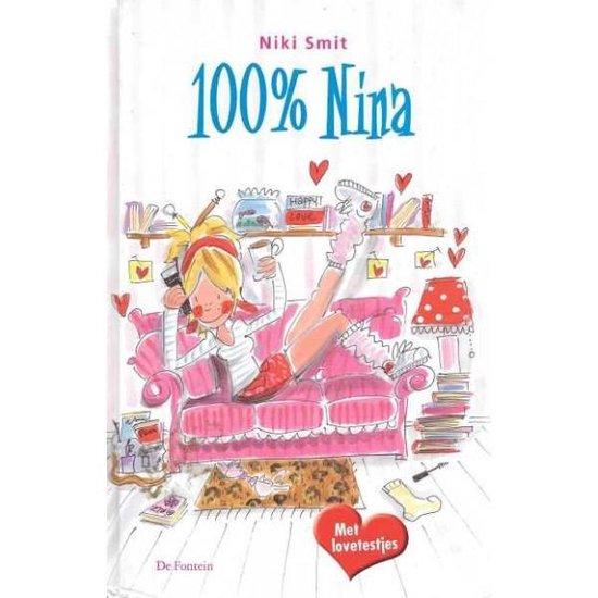 Cover van het boek '100 % Nina' van N. Smit