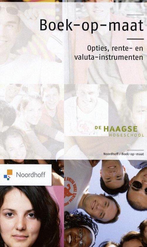 Boek cover Boek-op-maat Opties, rente-en valuta-instrumenten van P. de Keijzer (Paperback)