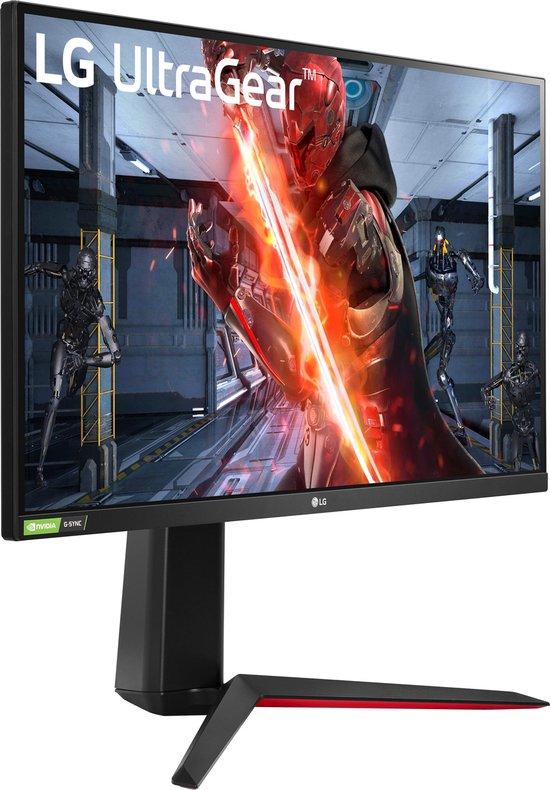 LG 27GN850-B Ultragear - QHD Nano-IPS Gaming Monitor - 144hz - 27 inch