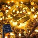 J-Pro Tuinverlichting op zonne-energie - 50 Solar LED 7m Blurry lichtsnoer - ø2cm