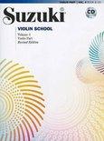 Suzuki Violin School 4 + CD (Revised)