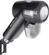 AXA LED Koplamp Nox Sport Fietsverlichting - Batterij Auto/Off - 12 Lux - Zwart