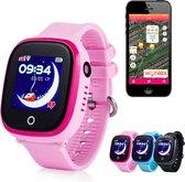 GPS tracker horloge kind junior AQUA Wifi Camera Roze [IP 67 Waterdicht]