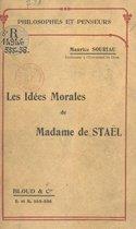Les idées morales de Madame de Staël