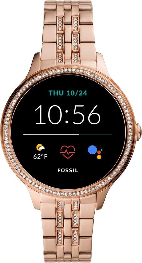 Fossil Gen 5E FTW6073 - Smartwatch - 42 mm - Roségoud