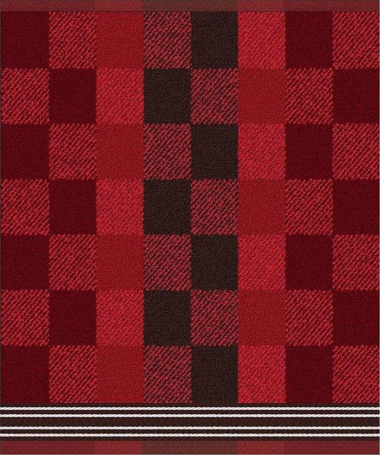 DDDDD Feller - 2 Theedoeken & 2 Keukendoeken - Red