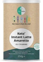 Go-Keto   Instant Keto   MCT Latte Amaretto   C8/C10 (60/40)   Snel afvallen zonder poespas!
