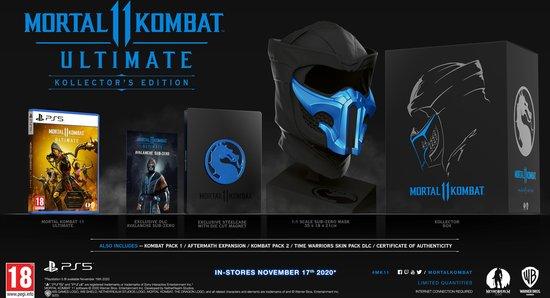 Bol Com Mortal Kombat 11 Ultimate Kollector S Edition Ps5 Games