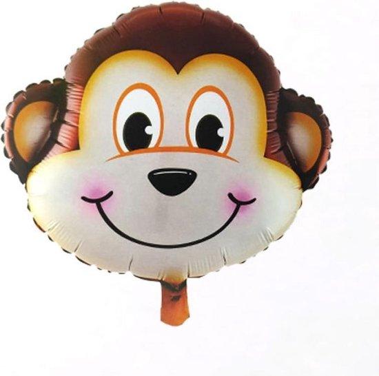 Safari versiering – Aap – Folieballonen – Jungle decoratie