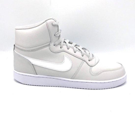 Nike Ebernon Mid - Vast Grey/White/Blackened Blue - Maat 42