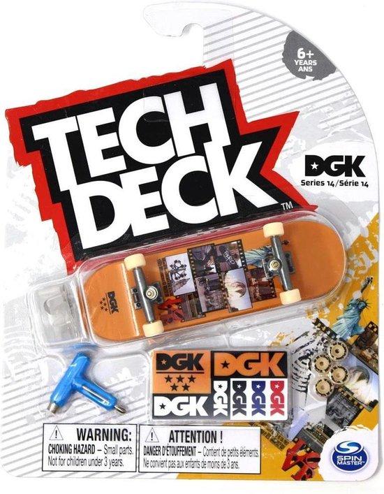 Afbeelding van Tech Deck Series 14 DGK Skateboards Thoro Film Fingerboard Tech Deck