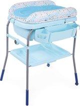 Chicco Cuddle & Bubble Verzorgingstafel - Babybadje met standaard - Luiertafel - Verschoontafel - Verstelbare hoogtes