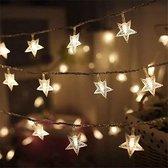 Kerstverlichting - Lichtslang sterretjes - 10 meter - Kerstverlichting binnen