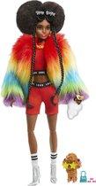 Barbie Extra Pop 2 Regenboogjas - Modepop