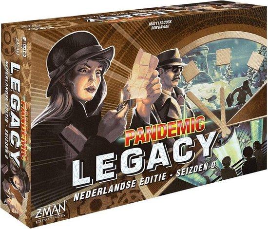Afbeelding van het spel Pandemic Legacy: Seizoen 0 - Bordspel