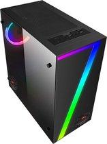 Basic Gaming PC (Ryzen 5 3600 4,2 Ghz, 16 GB DDR4 werkgeheugen, GTX 1650, 240GB SSD schijf en 1 TB HDD)