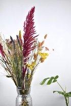 Droogbloemen boeket   Bonte Mix 75 cm   Dried flowers   Gedroogde bloemen