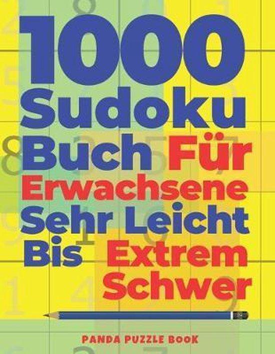 1000 Sudoku Buch Fur Erwachsene Sehr Leicht Bis Extrem Schwer