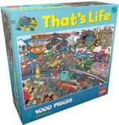 That's Life Car Race Puzzel 1000 stukjes