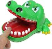 Bijtende krokodil - kinderspel - shotspel - drankspel - groene krokodil
