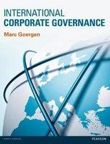 Boek cover International Corporate Governance van Marc Goergen