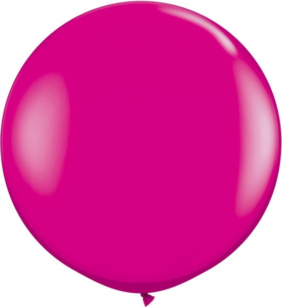 Folat Ballon 90 Cm Latex Roze 2 Stuks