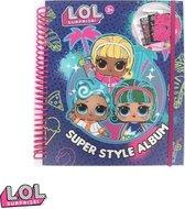 Lol Surprise - L.O.L - Super Style Album -  Tekenen - Kleuren - Stickers