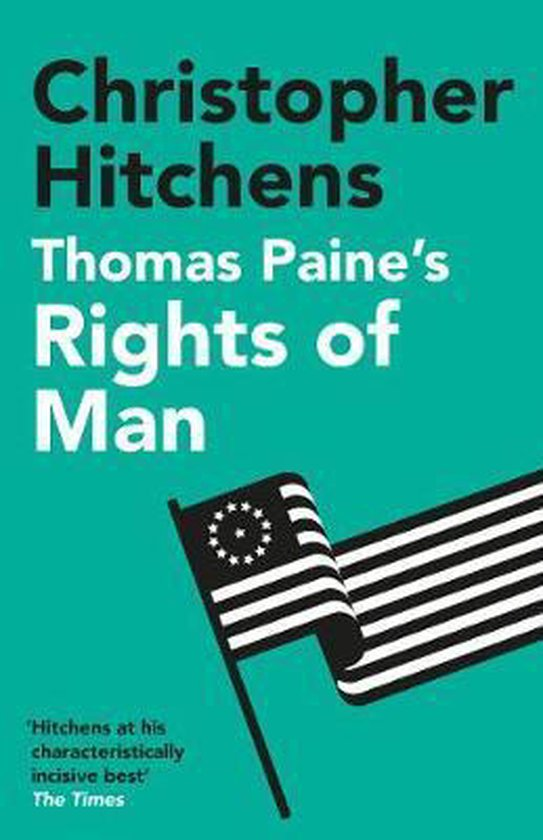 Boek cover Thomas Paines Rights of Man van Christopher Hitchens (Paperback)