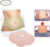 Sliming patch set- Afslankpleisters geschikt voor buik en taille- afslanken- belly- 5 stuks