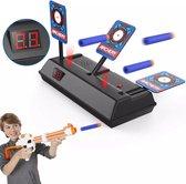 Schietschijf Target - Geschikt voor o.a. Nerf Gun Pistolen - Schietspel - Schietdoel - LCD Scorebord - Schietspeelgoed - Zwart