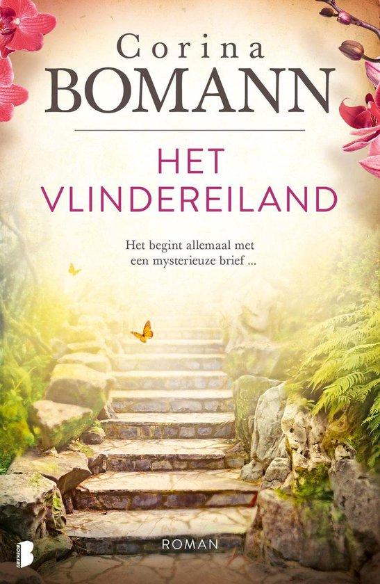 Boek cover Vlindereiland van Corina Bomann (Onbekend)
