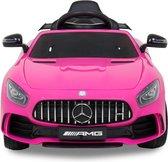 Mercedes GTR Elektrische Kinderauto - Accu Auto - Sterke Accu - Afstandbediening - Roze