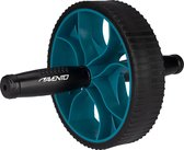 Avento Power Ab-Roller - Zwart/Blauw