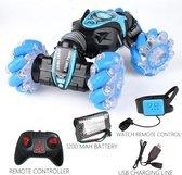 Bestuurbare Auto Speelgoed RC Auto Afstandsbestuurbare Auto - Speelgoed met Gebarenbesturing - Blauw