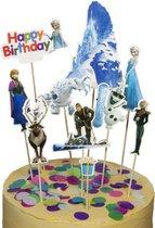Frozen | cake flags | taart vlag | taartversiering | taart topper | taart decoratie | decoratie topper