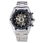 Winner - Heren Horloge - Automatic Horloge - Chroom Band