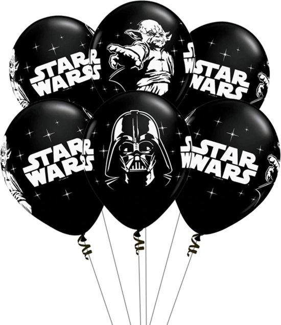 Star Wars Ballonnen - Verjaardag Versiering - Baby Yoda - Darth Vader - Star Wars - 10 stuks