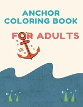 Anchor Coloring book for Adults